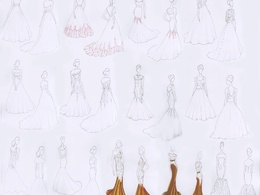 Draw your fashion design ideas