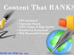 Write a 500 word  article/blogpost/web content on given topic and /or keywords