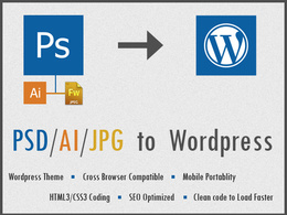 Do PSD to Wordpress Website
