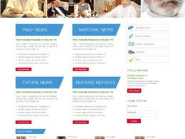 Design and develop a website