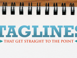Create up to 8 taglines for your business, product or service