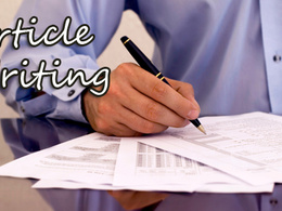 Write an article and spin it 50 times and submit to 50 article sites