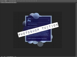 Tutor you in Photoshop