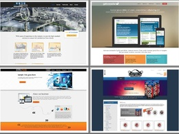 Design your exclusive PSD website with a design for every page and unlimited changes