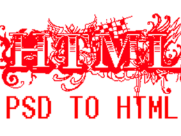 Convert psd to html, psd to xhtml or psd to html5/css3