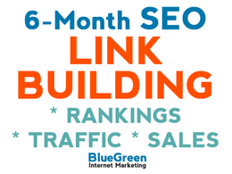 Give you a 6-month link building strategy & program