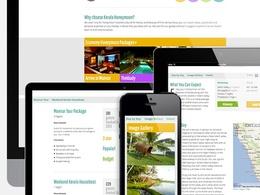 Create a bespoke responsive website