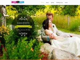 Make an amazing website for your wedding