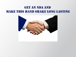 Standard Legally valid and binding NDA