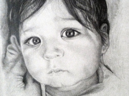 Create a hand drawn pencil sketch portrait from your photo