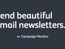Convert your design to emailer template for mailchimp or campaign monitor