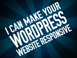 Make your WordPress website responsive / mobile friendly