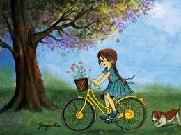 Illustrate a children book illustration