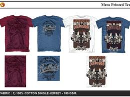 Design a vintage T-shirt print design