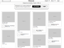 Make wireframe of your project