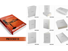 Turn your flat book cover into 3D