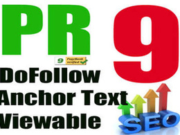 Manually create 15 backlinks from PR9 domains