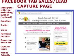 Build a custom sales/lead generation facebook tab