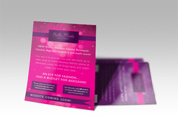 Design attractive and effective leaflets and flyers for any purpose