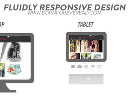 Design and implement a 4-6 page responsive HTML website