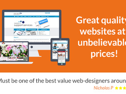 Design & build a great Joomla or Wordpress website