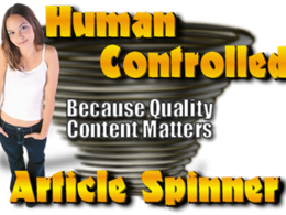 Manually Spin Your 500-Word Article