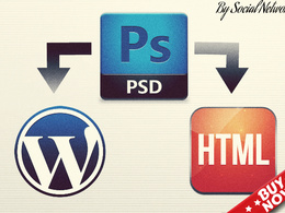 Convert PSD To HTML/WordPress W3C Validated & SEO semantic