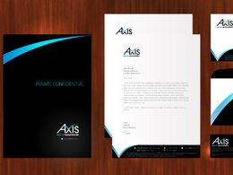 Design your Logo + Business Card + Letterhead + Envelope + Compliments Slip