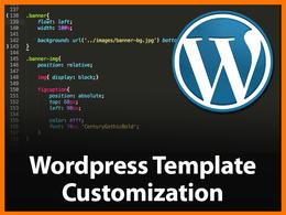 Customize your Wordpress Template / Theme