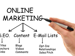 Advise you on your companies online marketing stratergy