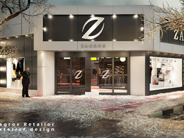 Render a 3d photorealistic interior and/or exterior image from your sketch`