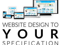 Design a website page - up to 3 pages
