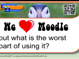 Create a Moodle course for you based on any topic and your own content