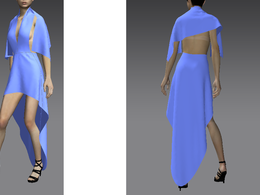 Make a 3d clothes of your choice