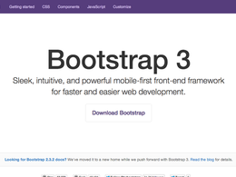 Convert your PSD to Twitter Bootstrap 3 based web page