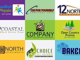 Give you a perfect logo which describes the concept of your business