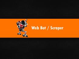 Create a crawler,scraper or bot