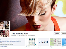 Create a professional Facebook page for your business and offer marketing advice