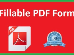 Create professional fillable PDF forms