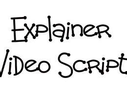 Write a 1 min explainer video script