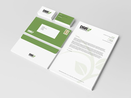 Design a logo + business card + letter head + stationery