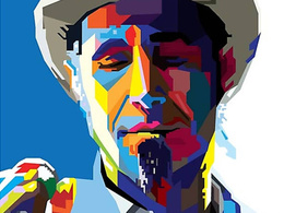 Draw awesome portrait WPAP vector of you