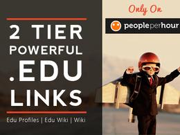 Create Powerful Two Tier .edu Link Pyramid
