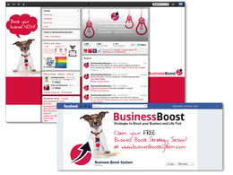 Design matching Facebook page & Twitter profile