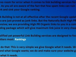 Provide a complete organic link building package
