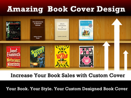 Design an amazing best selling book cover