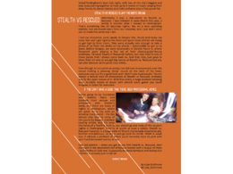 Design the layout of an article or story