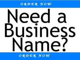 Suggest you 50 catchy and best names for your business or brand