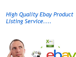 List 20 products on ebay with attractive title and optimized images