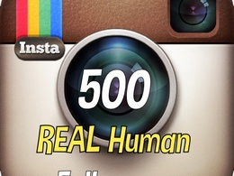 Add 500 Instagram followers to improve your social ranking and SEO